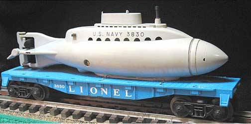 archive museum sets lionel was transitioning from the metal truck 2046w to the plastice truck 736w in 1961 and lionel substituted the 736w when 2046w inventory was exhausted